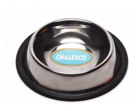 Comedouro Inox Chalesco 225 Ml