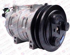 Compressor Tm21 Retro Escavadeira Caterpillar 416e 12v 2a