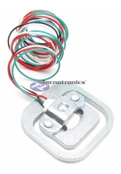Célula Sensor De Carga Peso Com 4 Fio 50 Kg Projeto Arduino
