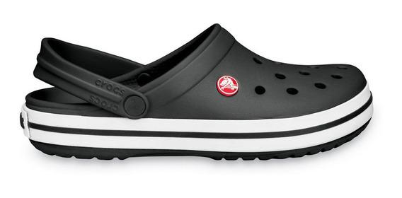 Crocs Originales Crocband Negro Unisex Hombre Mujer