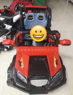Carro Jeep A Batería Con Dos Acsiento