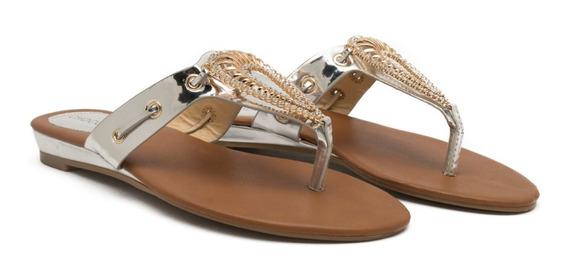 Sandalias Ojotas Mujer Bajas Comodas Moda Chocolate 558-3