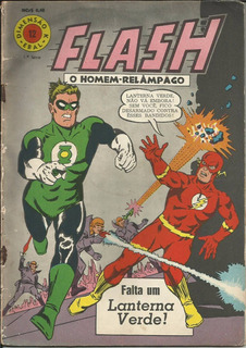 Hq Flash O Homem Relâmpago 68 (ebal) Nº 12