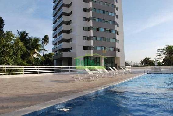 Apartamento Top Com 4 Suítes Para Alugar, 234 M² Por R$ 4.000/mês - Casa Forte - Recife/pe - Ap1076
