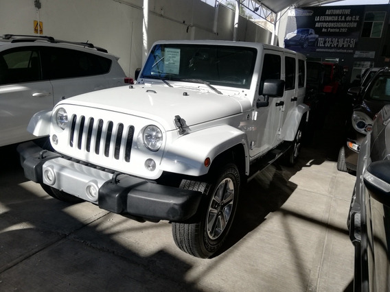 Jeep Wrangler 2014 Sahara Unlimited 4x4 Credito O Cambio