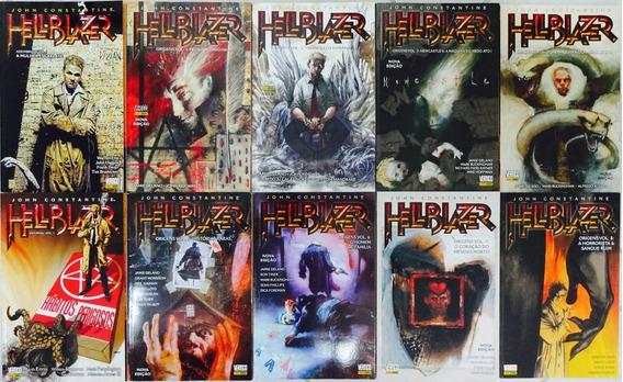 Hellblazer Origens 1 A 8 Completo + Infernal 1 Assombrado 1