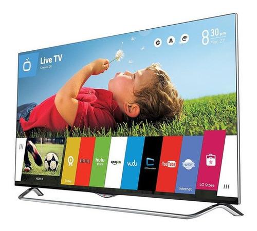 Imagem 1 de 10 de Smart Tv LG 4k 55ub855polegadas Tela Ñ Quebrada Mas Comlinha