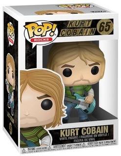 Funko Pop Nirvana 65 Kurt Cobain Magic4ever