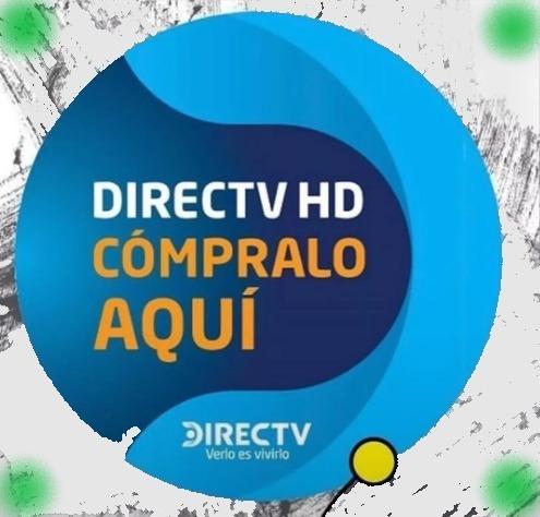 Kit Decodificador Directv Mega Combo Hd Prepago Envio Gratis