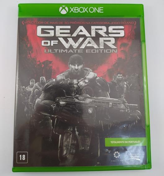 Gears Of War Ultimate Edition Xbox One Mídia Física Usado