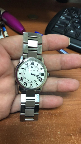 Reloj Cartier Solo Caballero