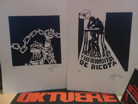 Serigrafia Rocambole Original ( 9 Motivos )