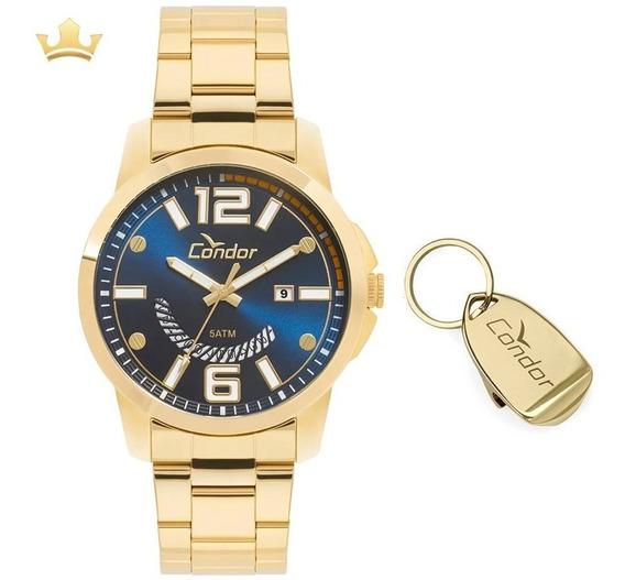 Kit Relógio Condor Masculino Co2115ktm/k4a Com Nf