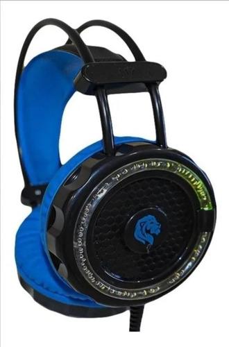 Fone De Ouvido Headset Gamer Hayom Hf2201 + Mic + Led + P2