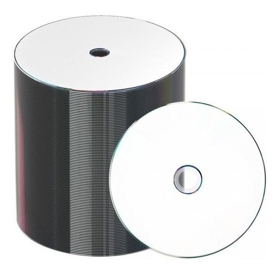 50 Midia Cd-r Printable + 25 Caixa De Acrílico Grossa