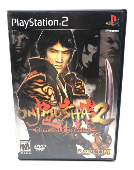 Onimusha 2 Playstation 2 Ps2 Original Americano Completo