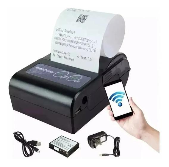 Kit 11 Mini Impressora Portatil Bluetooth Termica 58mm Ios