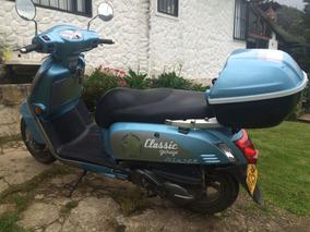 Moto Kymko Like 125 Classic En Excelente Estado.
