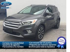 Ford Escape Titanium Ecoboost 2.0l 2017 Seminuevos