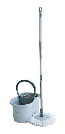 Mop Giratório Super Com Cesto Inox 8l E 2 Refis Rayco-14874