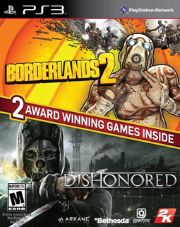 The Borderlands 2 Dishonored Bundle Playstation 3 Fisico