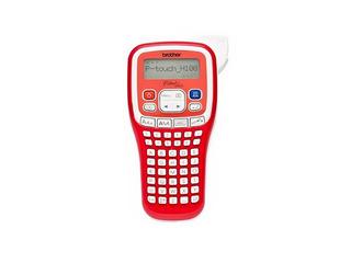 Rotuladora Impresora Brother Ptouch H100 Portátil Rojo