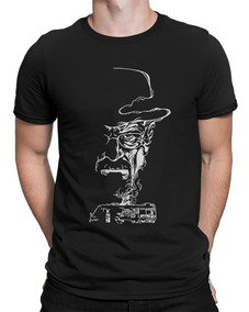 Camiseta Breaking Bad Heisenberg Trailer Séries Seriados