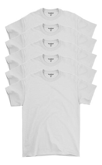 Kit 5 Blusas Masculinas Básicas 100% Algodão Confort Line®