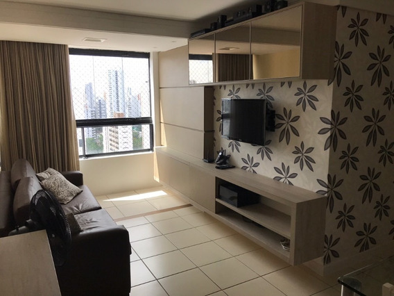 Lindo Apartamento Mobiliado Na Torre Ótimo Preço E Local