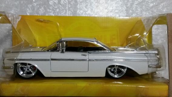 Carros De Colección 1959 Chevy Impala Escala 1/24 Jada