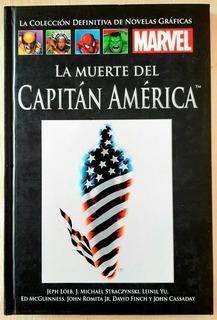 Marvel Salvat Tapa Negra 53 La Muerte Del Capitán América