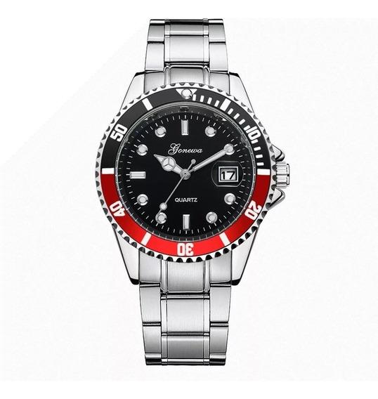 Relógio De Pulso Luxo Esportivo Quartzo Classico Masculino