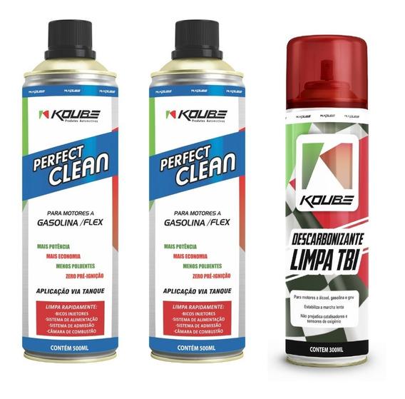 Koube 2x Perfect Clean Descarbonizante Limpa Tbi