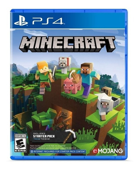 Minecraft Starter Collection Ps4 Mídia Física Novo Original