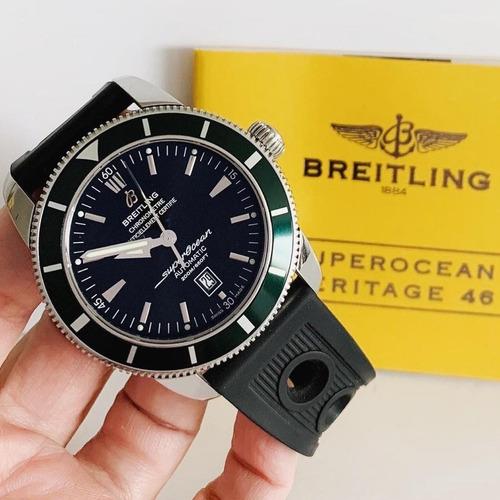 Breitling Superocean Heritage 46 Green Bezel Automático