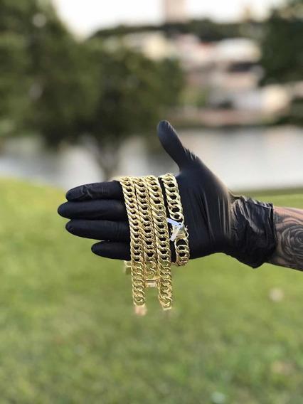 Pulseiras E Correntes De Luxo Ouro 18k