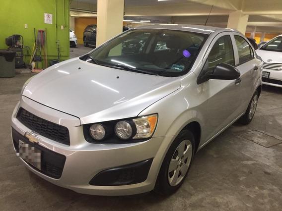 Chevrolet Sonic 1.6 Ls L4 Man At 2015 Color Plata
