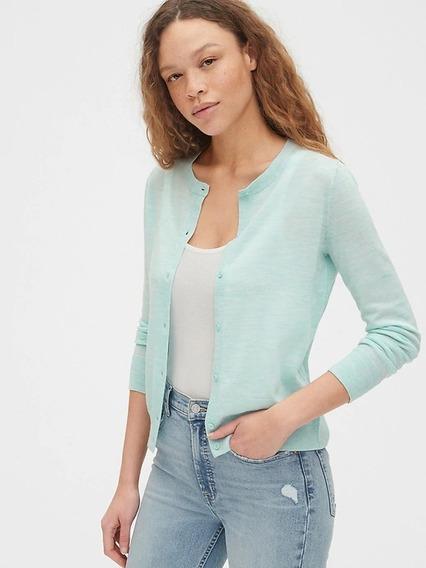 Suéter Gap Nuevo Dama Cuello Redondo Varios Colores Y Tallas
