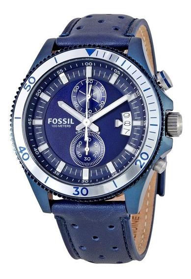 Fossil Wakefield Blue - Perfeito Lindo