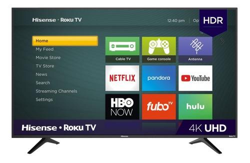Imagen 1 de 1 de Pantalla Hisense 55 Roku 4k R6 Series Smart Tv
