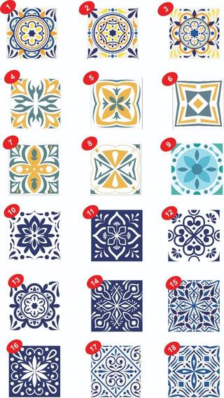 Azulejos Autoadhesivo Cocina 10 Un. 15x15 Sticker
