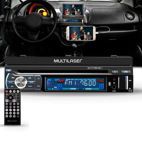 Dvd Player Automotivo Multilaser Extreme Bluetooth Gp044