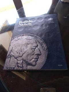 Album Coleccionador Monedas De 5 Cvs. ( Buffalo Nickels)