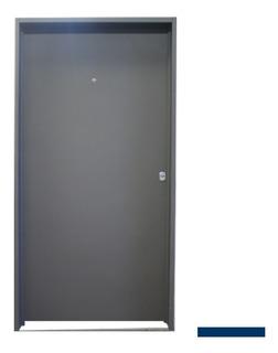 Puerta Lisa Doble Chapa Inyectada Poliuretano De 80 X 200