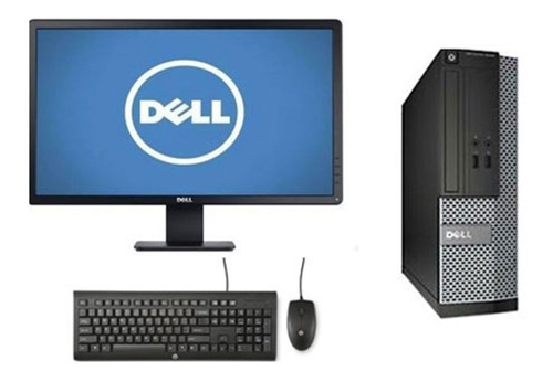 Cpu Monitor Dell Optiplex Core I5 4gb 500gb - Novo
