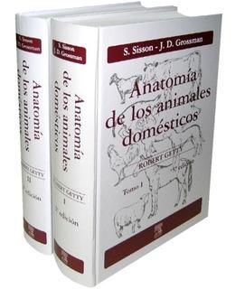 Envío Gratis. Pack Anatomía De Los Animales Domésticos 2 Vol