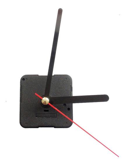 10 Maquinarias Reloj Pared Mecanismo Manecillas Negras Recta