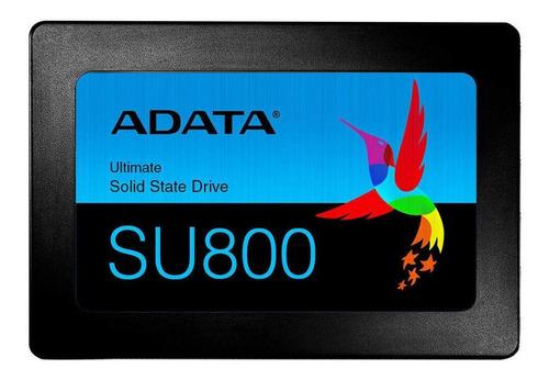 Imagen 1 de 3 de Disco sólido SSD interno Adata Ultimate SU800 ASU800SS-512GT-C 512GB