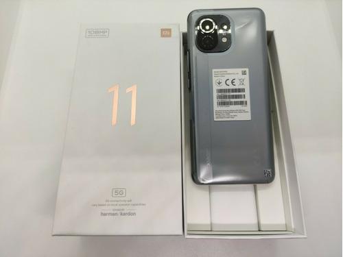 Imagen 1 de 7 de Xiaomi Mi 11 5g, 256gb, Versión Global Gris Medianoche