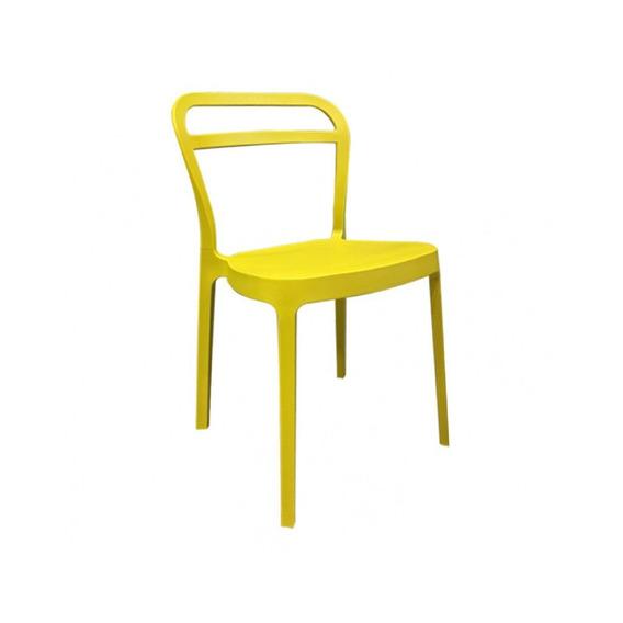 Silla Tracy (amarillo)